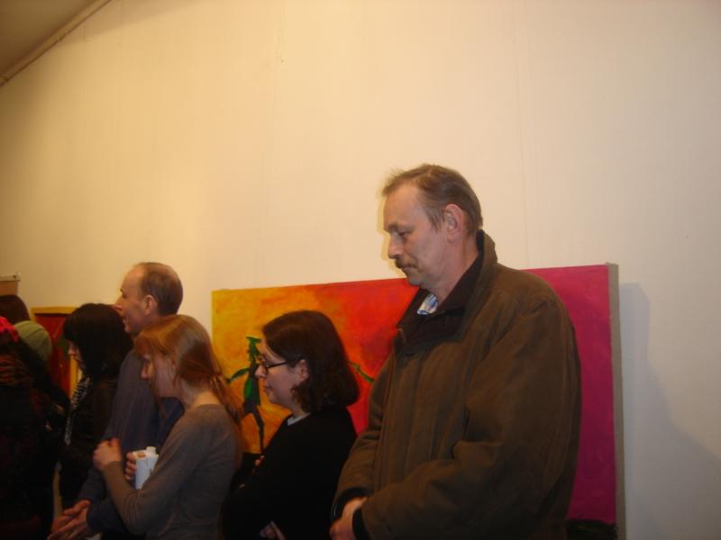 Участник выставки живописец Шинкарев Владимир