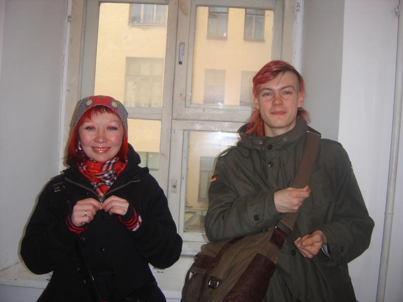 Литератор Наталья Романова и художник Григорий Ющенко