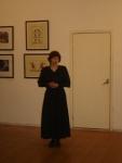 Куратор выставки Фехтование в искусстве и председатель СПбФК Тулякова Алина