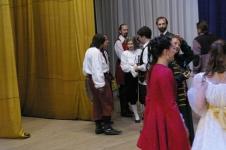 Общение со зрителями на сцене