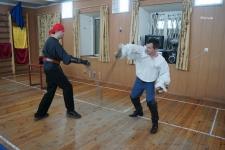 Фехтовальщики из Парад Рипоста подготовили выступление