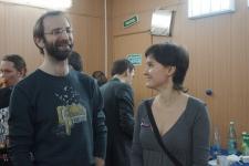Георгий Кобиашвили(СПбФК) и Юлия Федорова(Парад-Рипост)