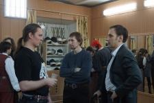 Дмитрий Круглов (Флер де Фер), Алексей Перков(Бойцовский Клуб), Игорь Андреев (Ренконтр)