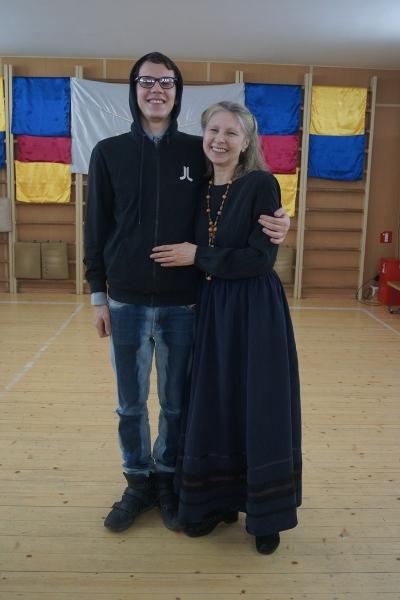 33. Сергий Туляков и Алина Алонсо