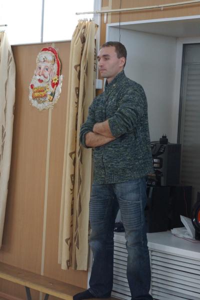 Судья Сергей Култаев, руководитель Гильдии Вольных Фехтовальщиков СПб