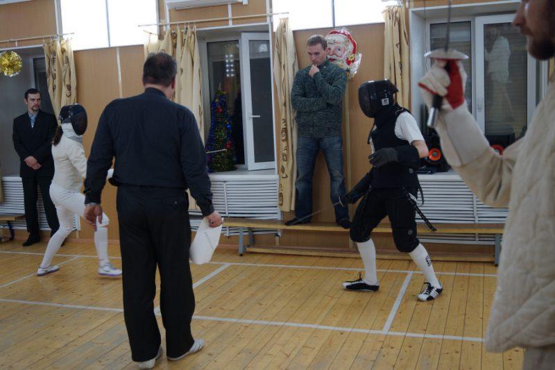 Боковые судьи на второй дорожке:Федор Шмыгля и Сергей Култаев