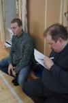 Александр Герасимов подводит результаты. Два лучших фехтовальщика выходят в финальные поединки