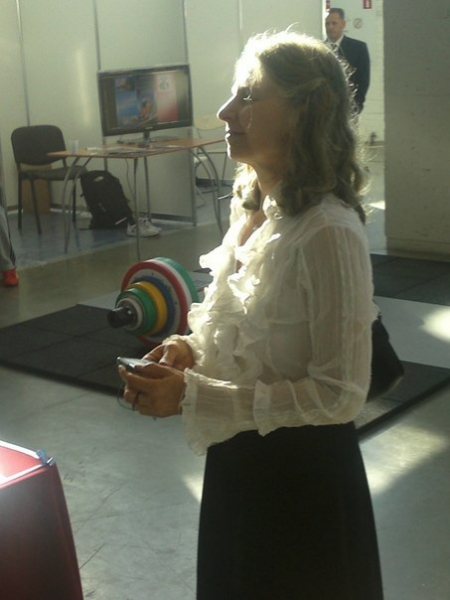 Председатель СПбФК Алина Тулякова. Фотография Галины Черновой