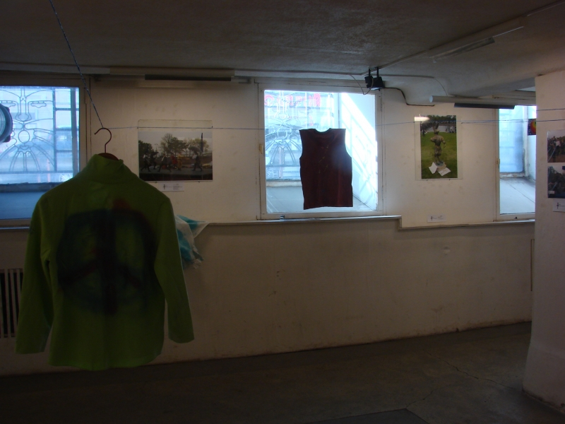 Экспозиция дизайна Элизавет Зайцевой