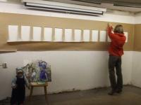 Выставка Э.Зайцевой совпадала с закрытием Дней фехтовальной культуры