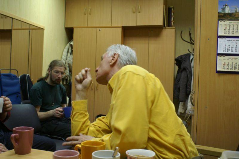 16.Виктор Жданович говорит об искусстве фехтования